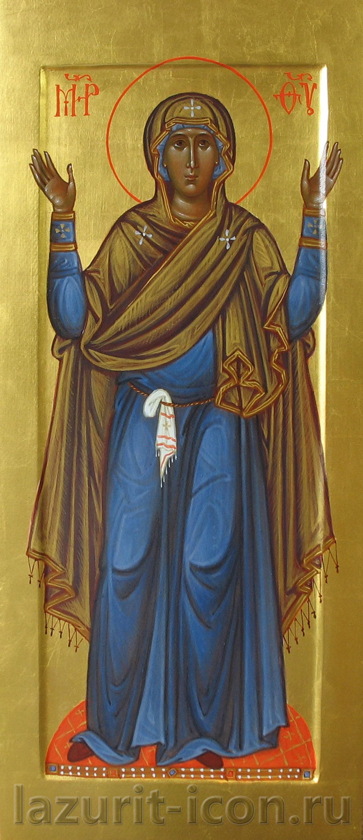 Образ Богородицы Оранта