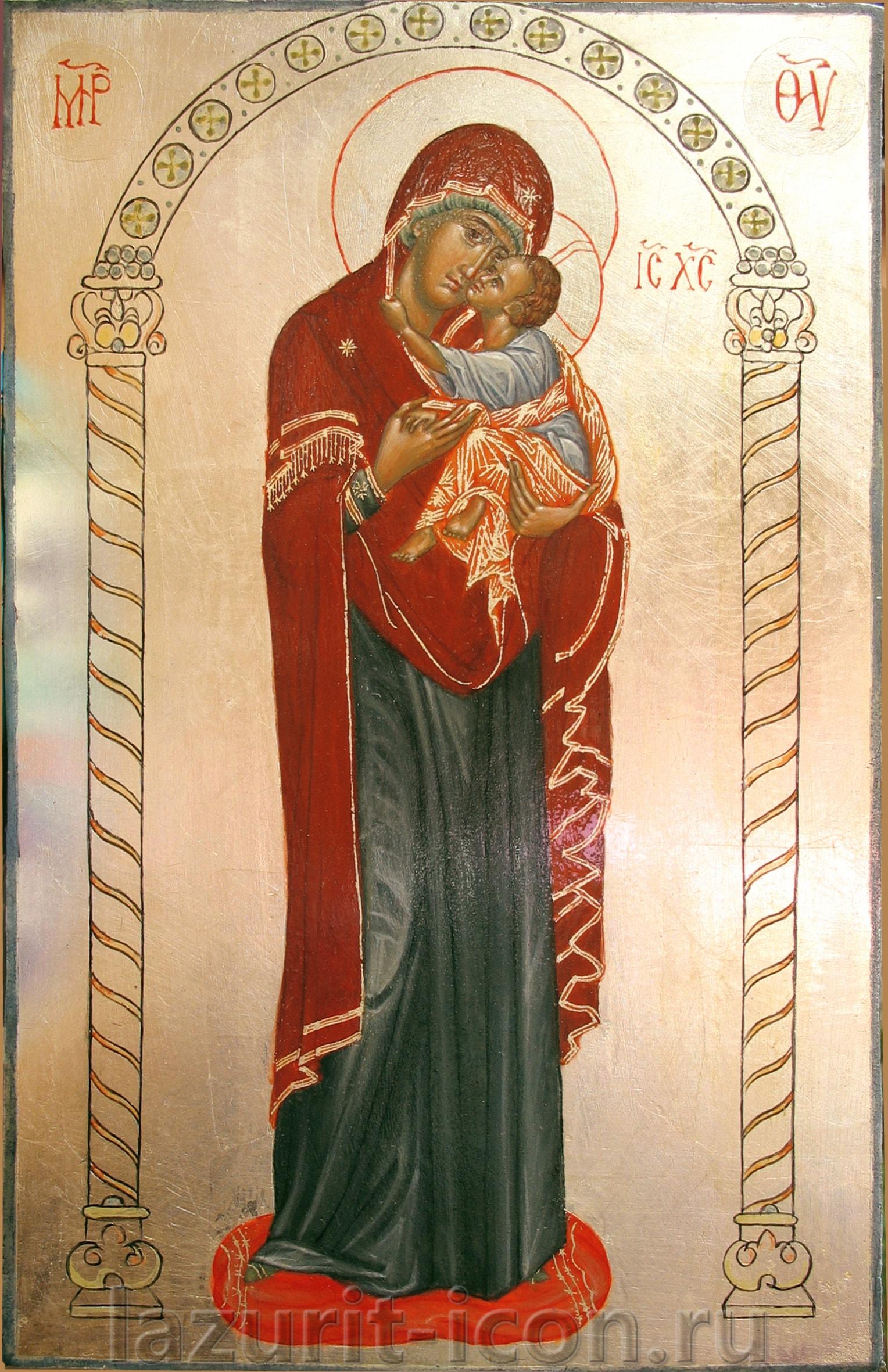 Дечанская икона Божией Матери
