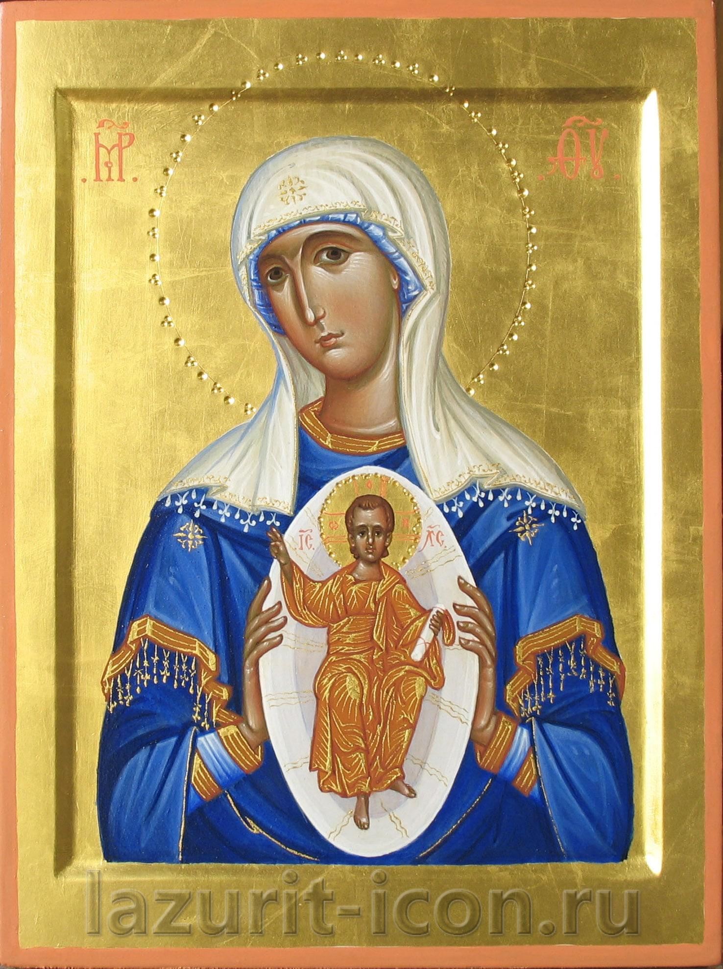 Образ Богородицы В родах помощница
