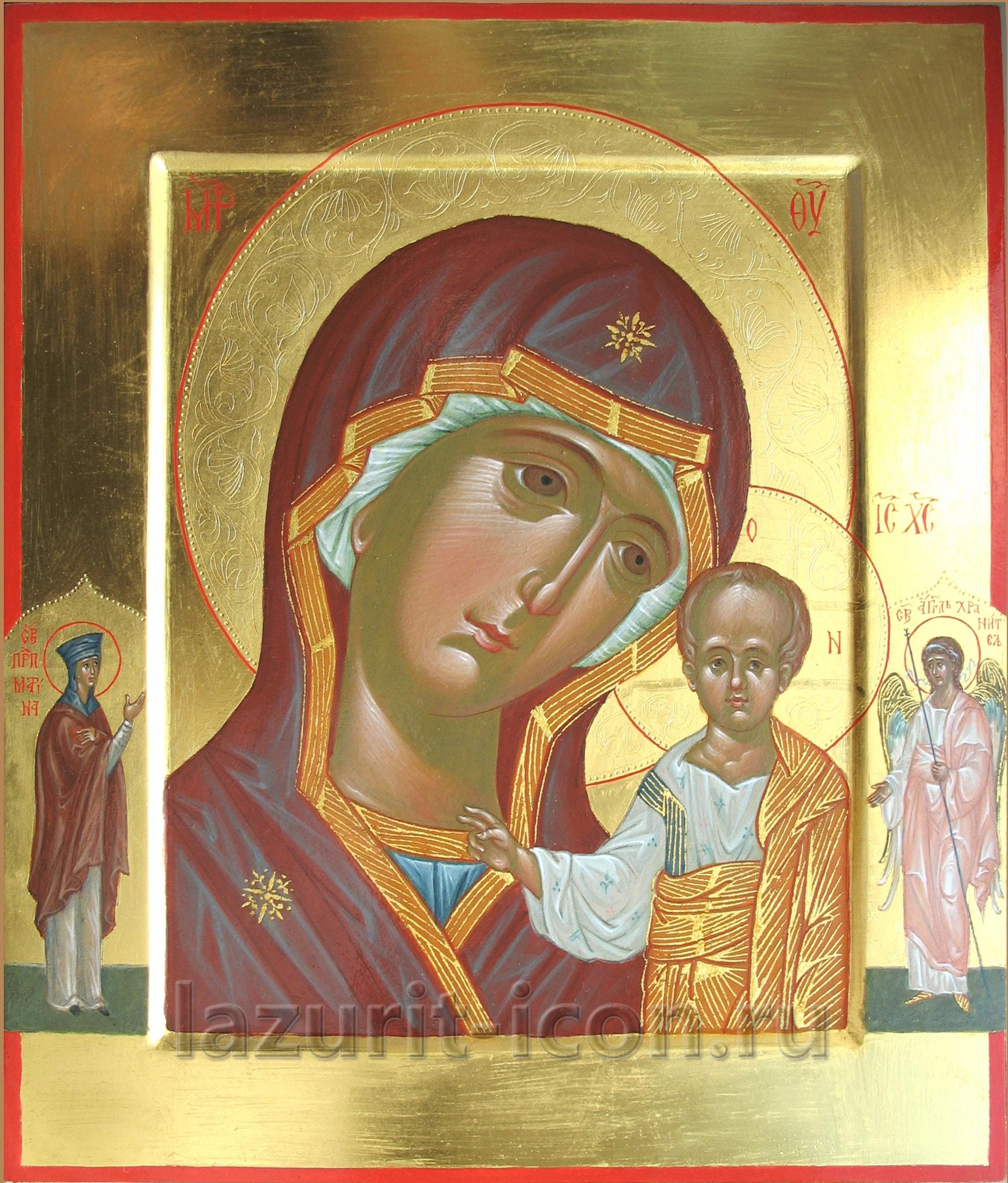 Казанская икона Божией Матери с избранными святыми