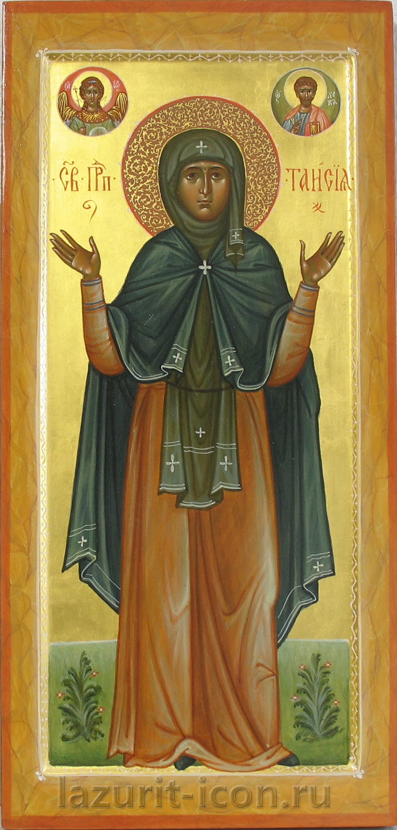 преподобная Таисия с избранными святыми