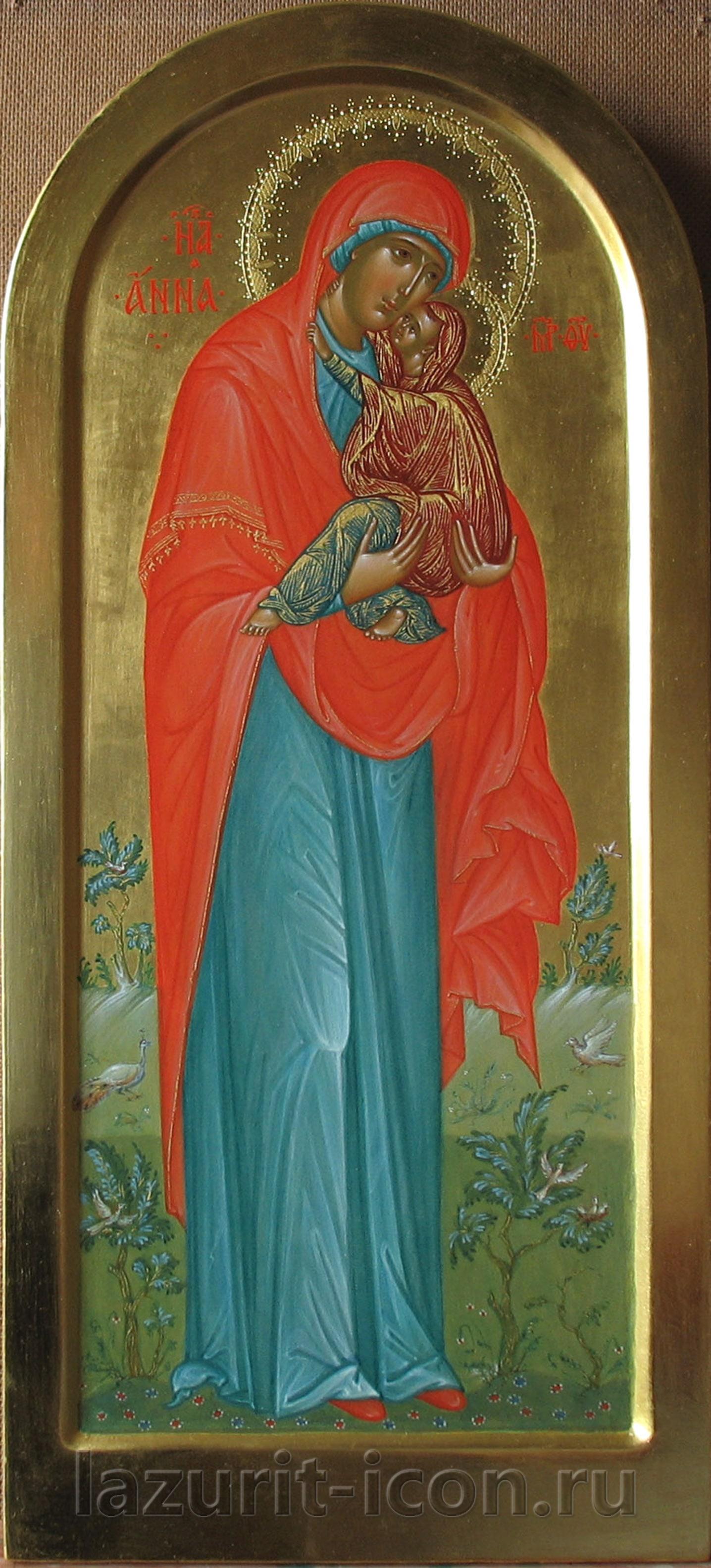праведная Анна с Богоматерью