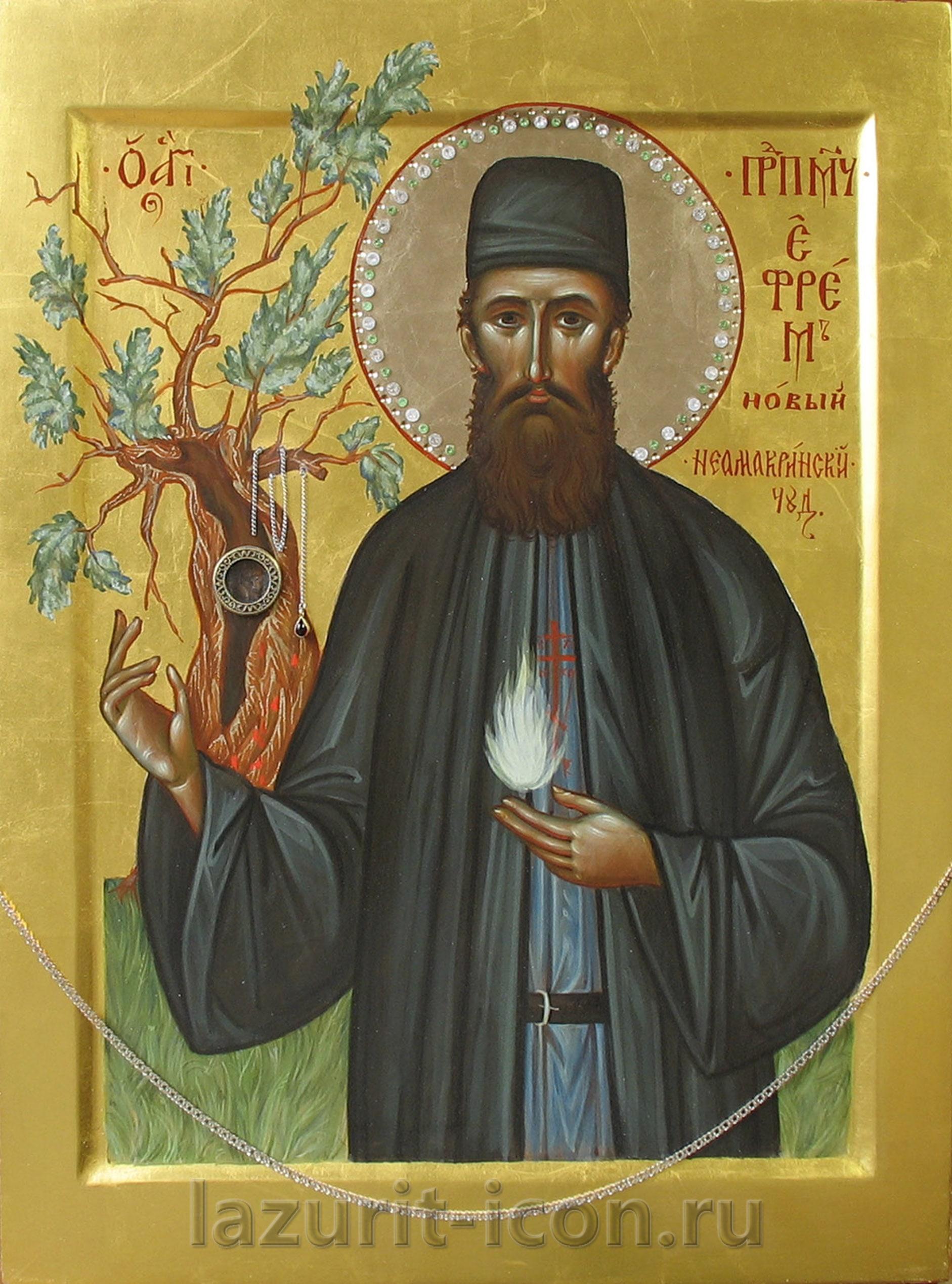 преподобномученик Ефрем Новый