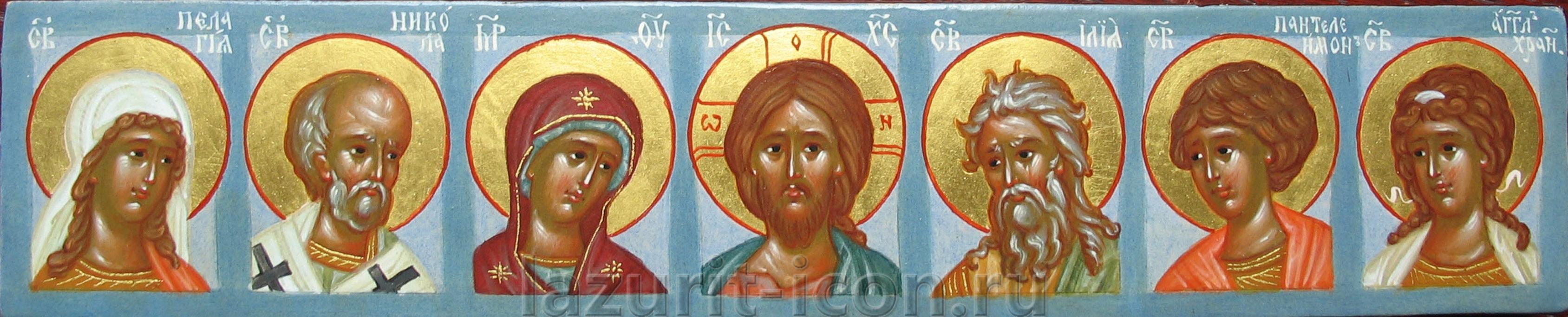 избранные святые (икона, которую можно брать с собой в дорогу)