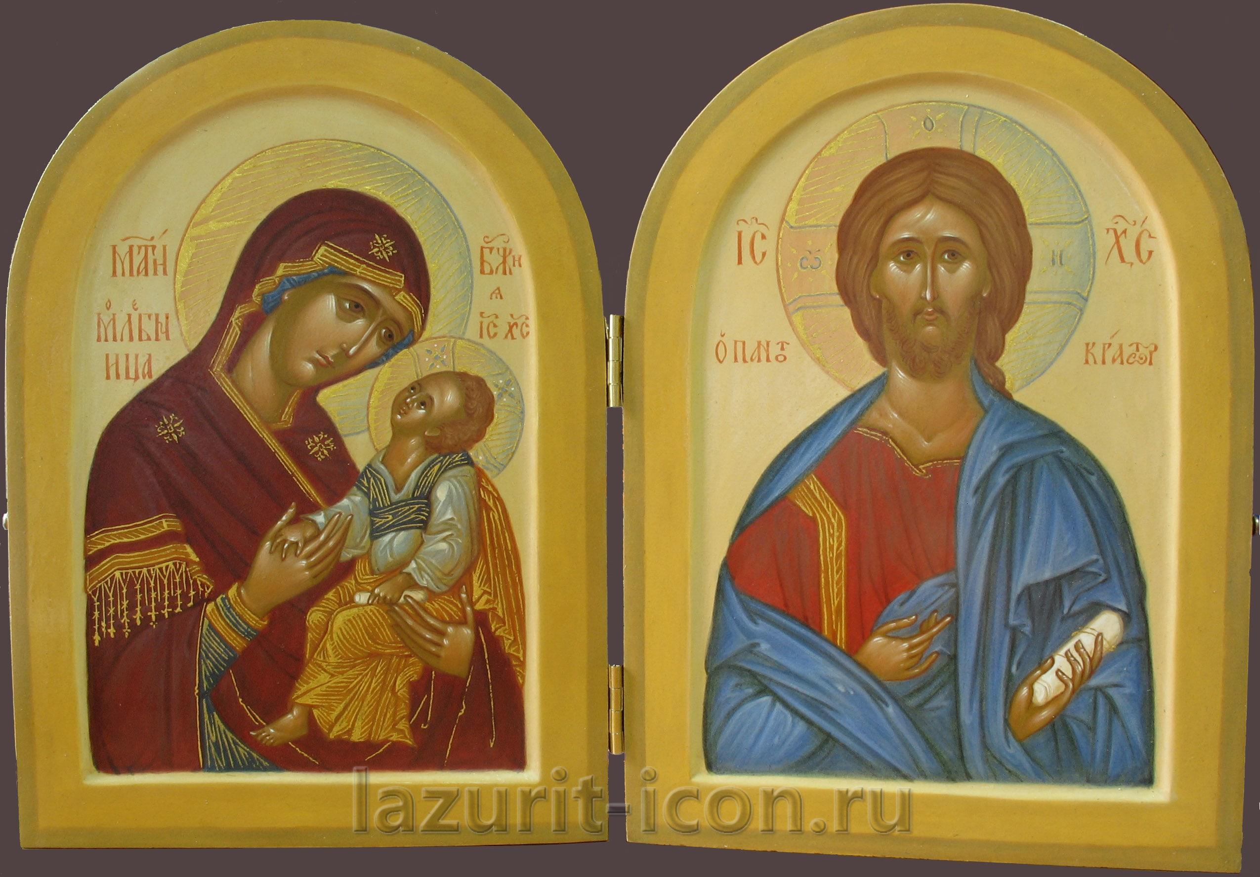 Богоматерь Мати Молебница и Господь Вседержитель