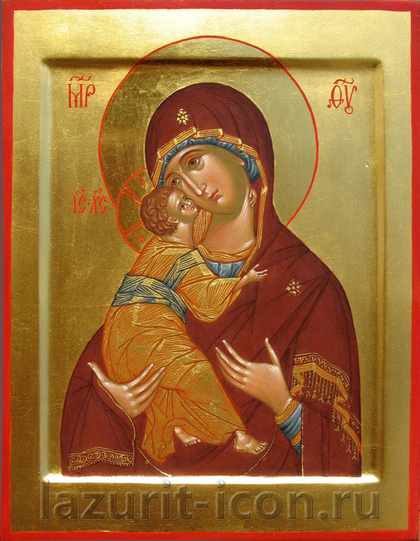 Богоматерь Владимирская и Господь Вседержитель
