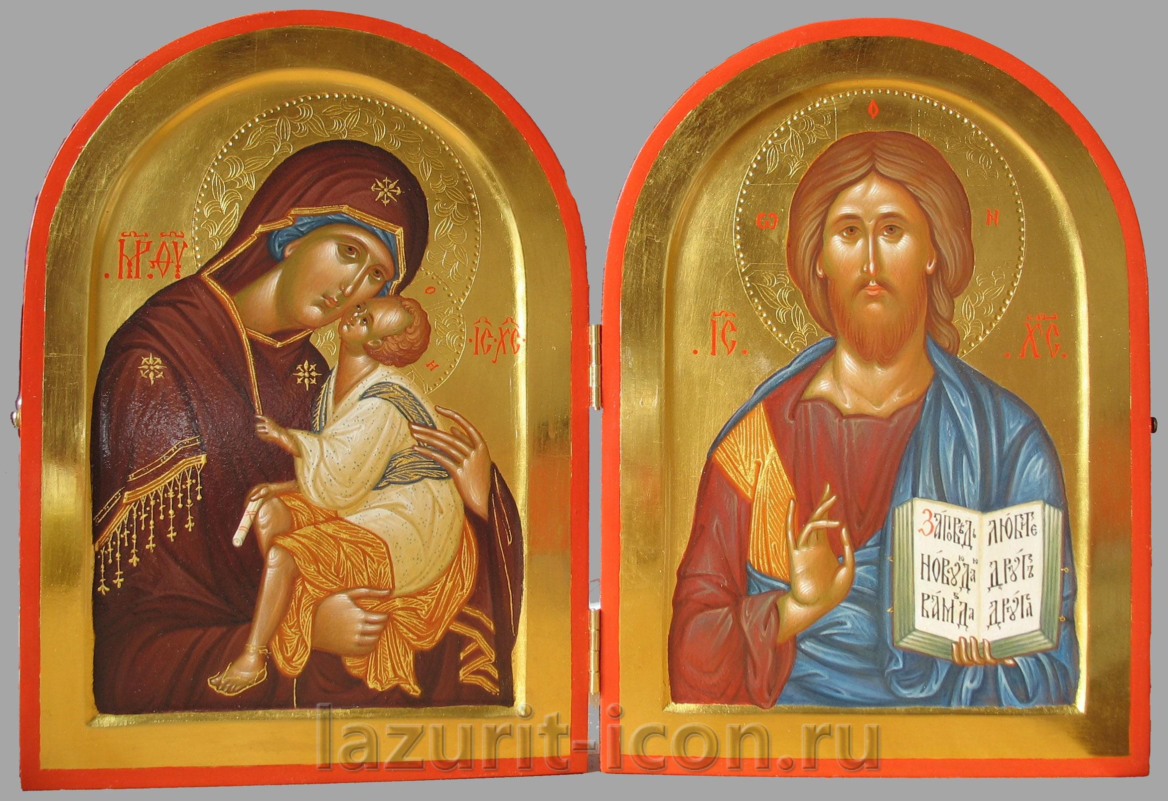 Богородица Елеуса и Господь Вседержитель