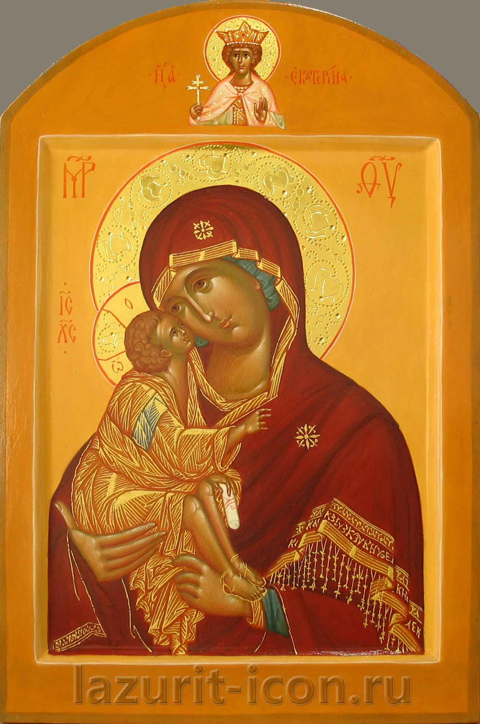 Богоматерь Донская и Господь Вседержитель
