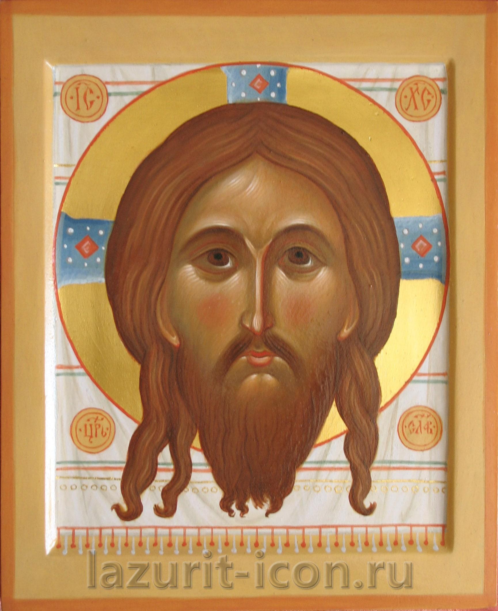 Богоматерь Знамение и Спас Нерукотворный
